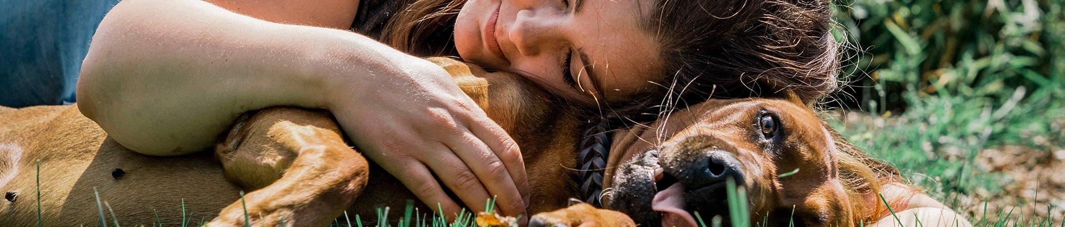 knuffelen-met-hond